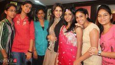 Taniyaa Khanna,Technical Educator - Professional #Makeup Artistry, Enrich Salon & Academy with NGO batch students.