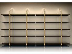 Estante auto-sustentável secional SESTANTE Coleção Esedra Suites by Esedra by Prospettive | design Studio Memo