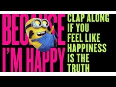 "Despicable Me 2 - ""Happy"" Video - YouTube"