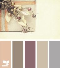 Warm/neutral color palette