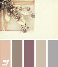 Warm/neutral color palette