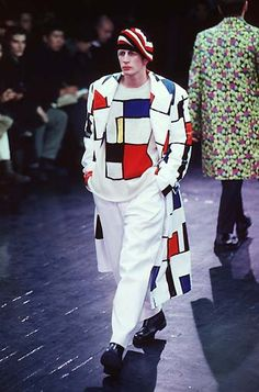 Style File Yohji Yamamoto: Yohji Yamamoto Menswear 1997