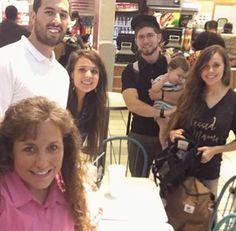 Michelle,Jeremy,Jinger,Jessa,Spurgeon and Ben.