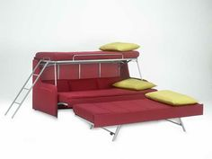 couch bunk beds | Cool Convertible Sofa Bunk Bed