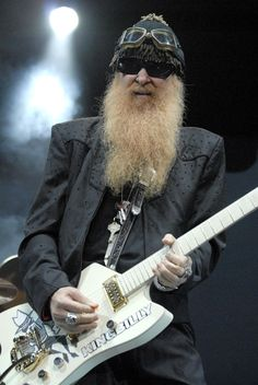 Billy F Gibbons  one of the good vibrations that needs to go before we were split in half