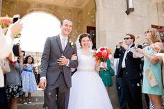 wedding ceremony at St. Mary Magdalen Catholic Church // Jessica Lauren Photography