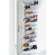 Schuhregal für die Tür - best place for schoes EVER