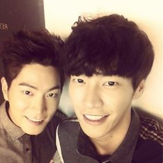 Hong Jong Hyun and Kim Young Kwang
