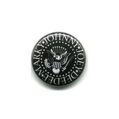 Ramones Band Names Pin
