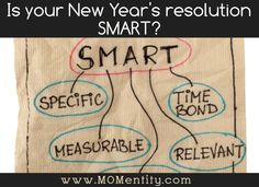 How to set a goal you will actually keep. New Years Resolutions.