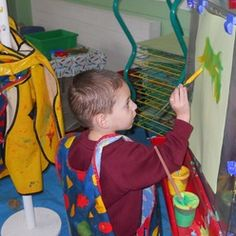 Children play and learn in a thoroughly inclusive