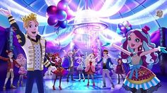 Ever after high wish episode. Surprise party for Farrah!