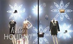 Holiday windows 2014 by Ann Taylor Visual Team, New York City