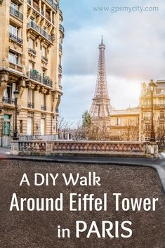 This historical neighborhood boasts typically Parisian architecture complete with vibrant cafes, restaurants and gourmet shops which draw foodies in their numbers. Among the attractions on this self guided walk you will visit the Eiffel Tower, Les Invalides, and the Rodin Museum.  #ParisTourEiffel #TourEiffelWalk #EiffelTowerItinerary #EiffelTowerAttractions #ParisChampsElyseesGuide #ParisTourEiffelGuide