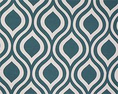 Premier Prints Emily Fabric Aquarius Blue by SistersFabricandMore, $11.99