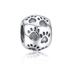 Soufeel Dog Puppy Paw Print Charm 925 Sterling Silver European Style Love My Dog Charm Soufeel http://www.amazon.com/dp/B00PXLJCAA/ref=cm_sw_r_pi_dp_ZLkNub1BTTXF8