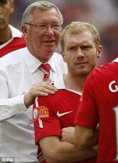 Sir Alex Ferguson & Paul Scholes, Manchester United