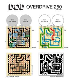 DOD 250 Effects Layouts