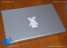 MacBook Pro - Vinylmation Skin by Mametchi86, via Flickr