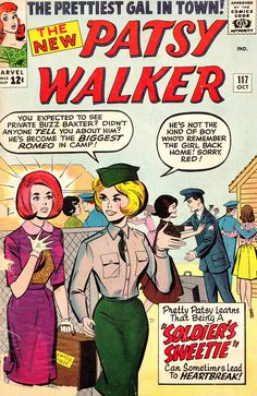 Patsy Walker, Vol 1 No. 117, October 1964