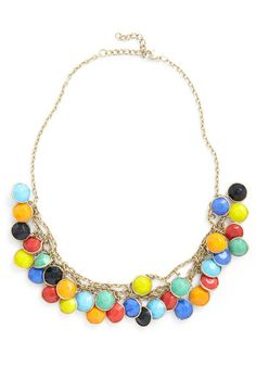 Catch a Glint Necklace. So colorful and fun!