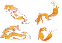 Firefox OS Brand Mascots   Early Concepts