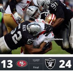 #ShareIG #Tbt Haha never gonna forget this day!! 12-7-14 I was there in the Black Hole lol Fuck the 9ers!