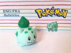 Pokémon Bulbasaur Tsum Tsum polymer clay tutorial