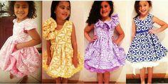 Beautiful little girls island dressess