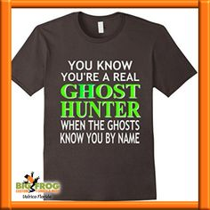 e6314fdfe Custom ghost hunter t-shirt. Get your custom graphic tees at Big Frog in