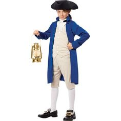 Boys Paul Revere Costume