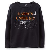 """Daddy's under my spell"" Halloween Tee #CartersHalloween"
