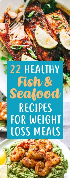 Fish & Seafood Recipes That Make An Easy Delicious Weight Loss Dinner! 22 Fish & Seafood Recipes That Make An Easy Delicious Weight Loss Dinner! - Fish & Seafood Recipes That Make An Easy Delicious Weight Loss Dinner! Fish Dinner, Seafood Dinner, Fish And Seafood, Easy Healthy Recipes, Easy Meals, Healthy Fats, Healthy Nutrition, Healthy Weight, Nutrition Store