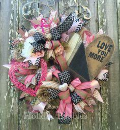"26"" Love You More Wreath"