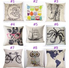 More burlap pillows! Can not get enough