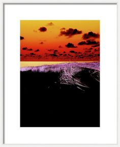 Fantastic Sylt By Marina Usmanskaya Framed Print featuring the photograph  Negativ image of a Dune on the island of Sylt in North Sea. Germany for home decor
