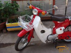 White front basket Honda C50 C65 C70 Passport C90 C100 C65 C102 C105 Little Cub