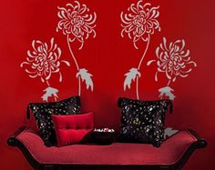 Pinterest Do It Yourself Wall Decorating | Do It Yourself Home Decor / wall stencil, very nice