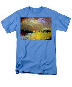 Men's T-Shirt (Regular Fit) - Abstract Landscape 1520