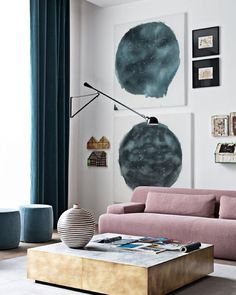 Andrea Parisio | Colour Trends. Living room inspiration. Interior…