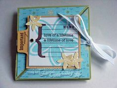 Triangle Trifold - Wedding card