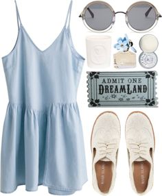 """Dreamland"" by carocuixiao ❤ liked on Polyvore"