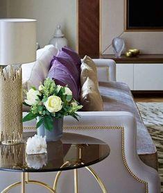 Kiki luxury side table by KOKET.