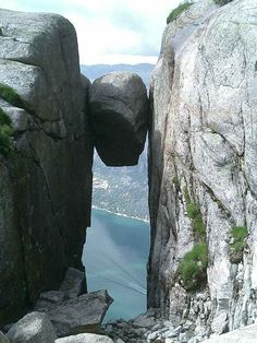 Hoping to stand here someday<3  Kjerag, Stavanger, Norway