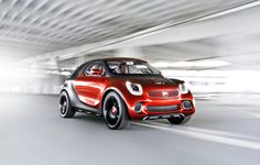 The 2018 Smart ForTwo has a lot more to offer than the model it'll replace. It was unveiled a couple of months back at the Paris' Auto Show. Smart Roadster, Smart Fortwo, Dieter Zetsche, Smart Forfour, City Car, Mercedes Benz Amg, Concept Cars, Crossover, Model