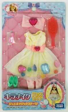 Takara Tomy Licca Doll Kira-make Dress Set Jewel doll not included (853138)