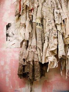 some of my old dresses. .
