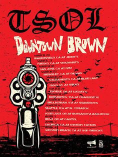 Long Live The Loud 666: TSOL,DOWNTOWN,BROWN ON TOUR THIS 2018