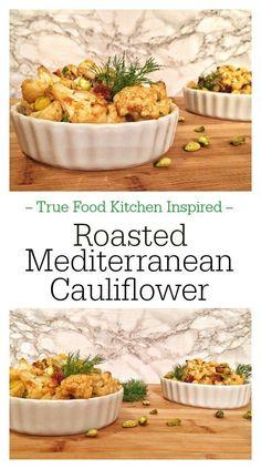 Roasted Mediterranean Cauliflower - Pinterest
