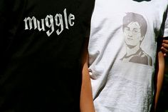 DIY Muggle / Harry Potter T-shirts